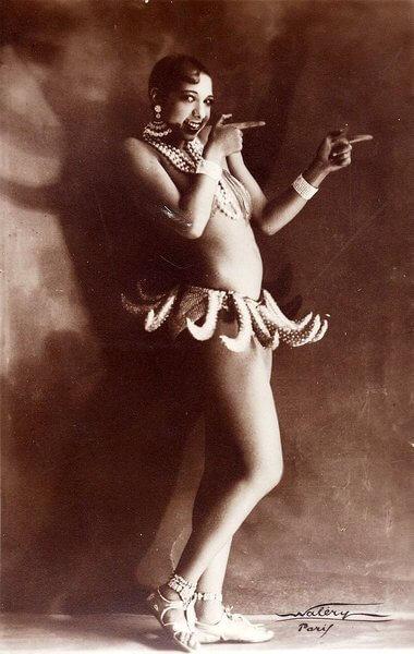 Josephine Baker by Lucien Walery